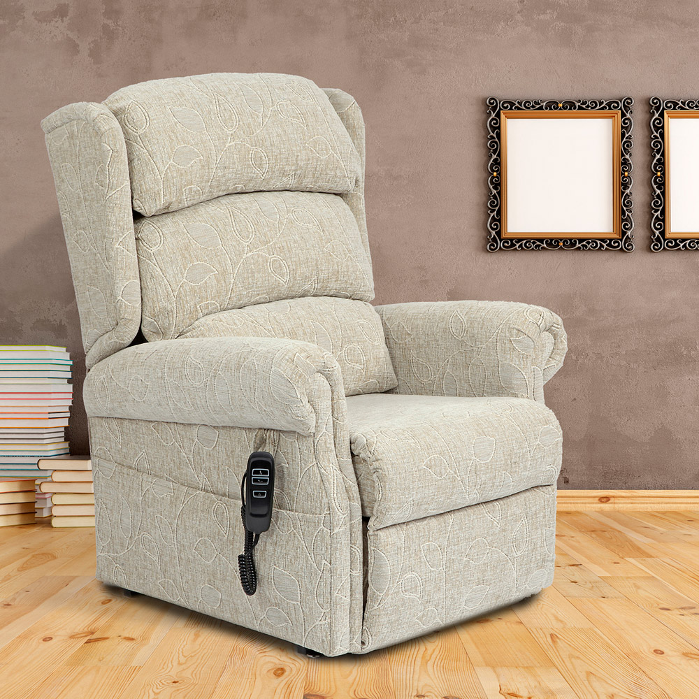 Primacare Brecon Wall Hugger Single Motor Tilt in Space Riser Recliner Chair